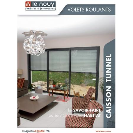 catalogue volet roulant caisson tunnel rln. Black Bedroom Furniture Sets. Home Design Ideas